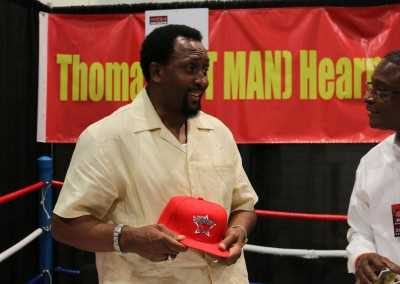 Tommy Hearns and Curtis Hunt