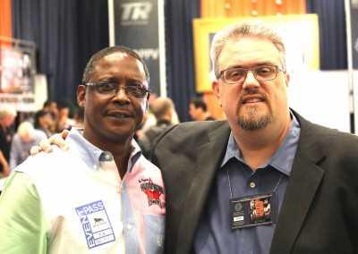 Curtis Hunt and ESPN Dan Rafiel