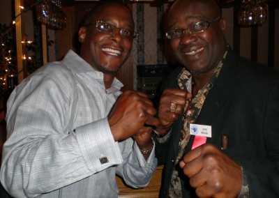 Curtis Hunt and John Mugabi The Beast