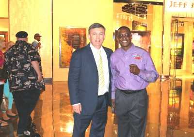 Curtis Hunt and Teddy Atlas