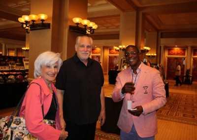 Al Berstien, Adie Zuckerman and Curtis Hunt