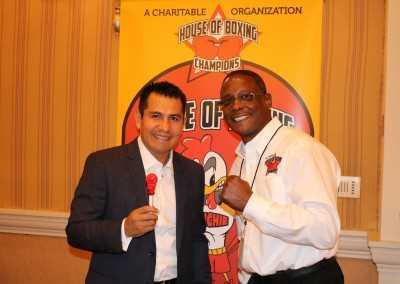Marcos Antonio Barrera and Curtis Hunt