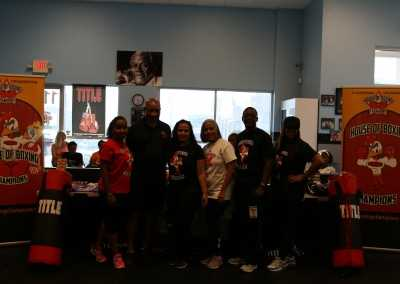 HOBC Staff and Richard Steele Family
