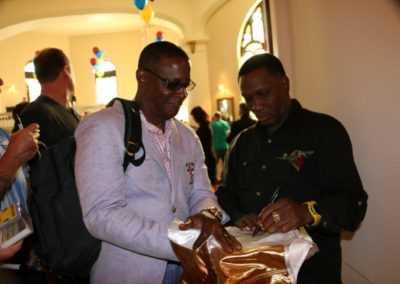 Pernell Whitaker sign custom trunks