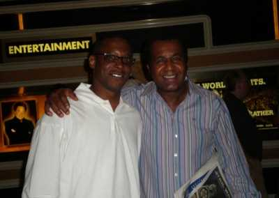 Curtis Hunt and Emanuel Steward