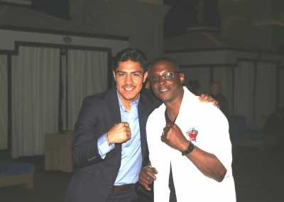 Curtis Hunt and Jessie Vargas