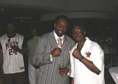 Curtis Hunt and Tommy Hearns