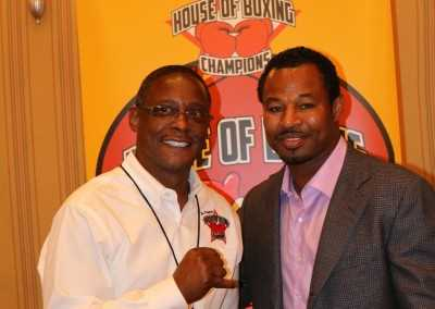 Curtis Hunt and Sugar Shane Mosley
