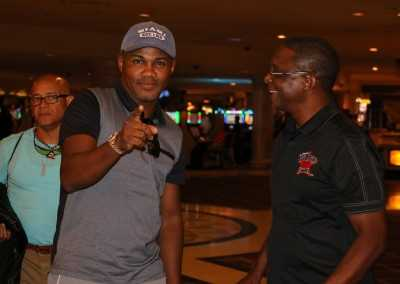 Felix Trinidad and Curtis Hunt