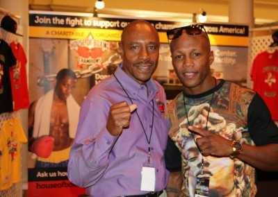 Greg Hunt and Zab Judah