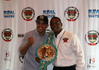 Victor Ortiz and Curtis Hunt