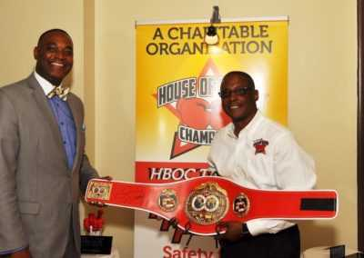 Mayor of B.H and Curtis Hunt