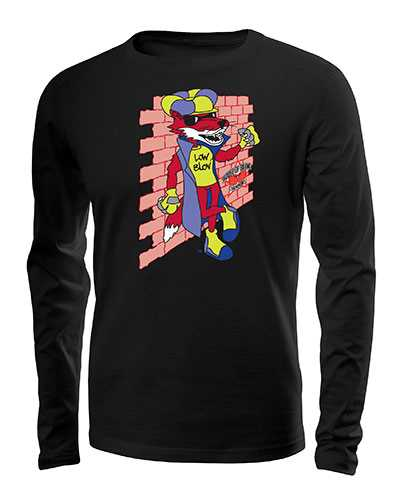 Low Blow Long Sleeved T-Shirt