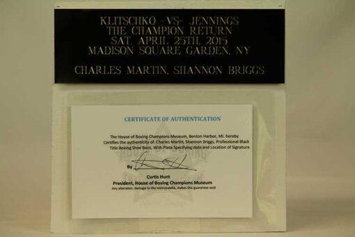 Charles Martin, Shannon Briggs