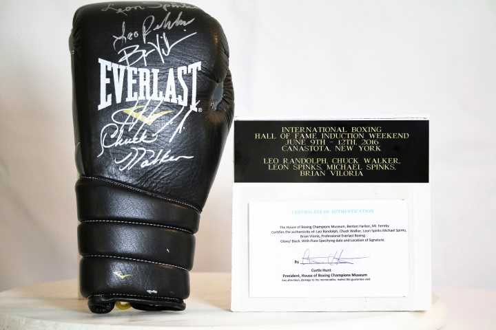 Leo Randolph, Chuck Walker, Leon Spinks, Michael Spinks, Brian Viloria