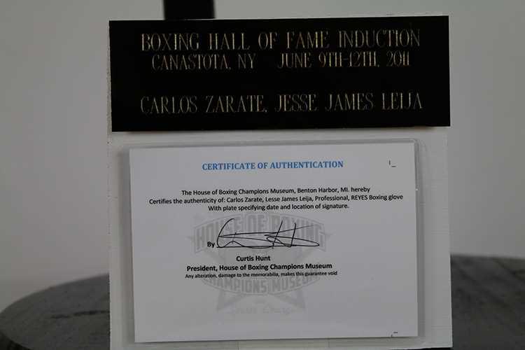Carlos Zarate, Jesse James Leija